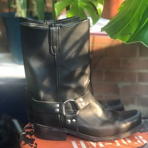 Other - Black motorcycle boots